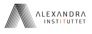 alexandra instituttet logo infinit sort